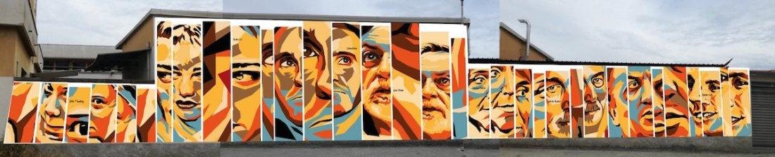 Orticanoodles murales di via Pitteri. ph press office