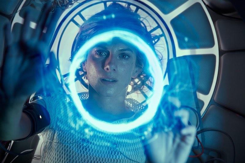 OXYGENE, Melanie Laurent. Ph Cr. Shanna Besson/ Netflix