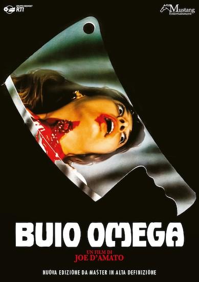 Buio Omega cover dvd film Mustang Entertainment.