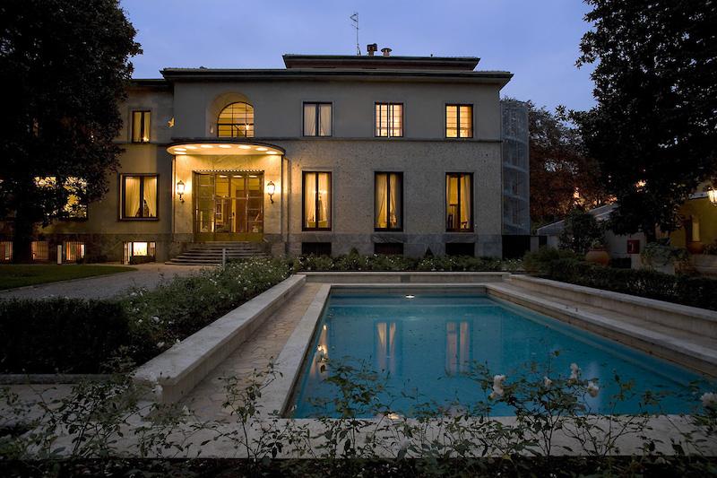 SERE FAI D'ESTATE Villa Necchi Campiglio, Milano all'imbrunire - Foto F. Clerici © FAI - Fondo Ambiente Italiano