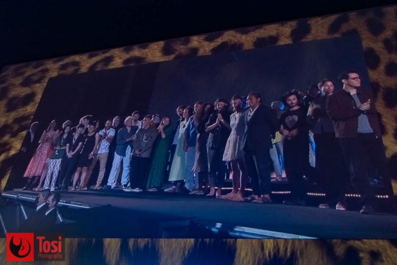I vincitori del Locarno film festival 2021 sullo schermo di Piazza Grande © Tosi Photography.
