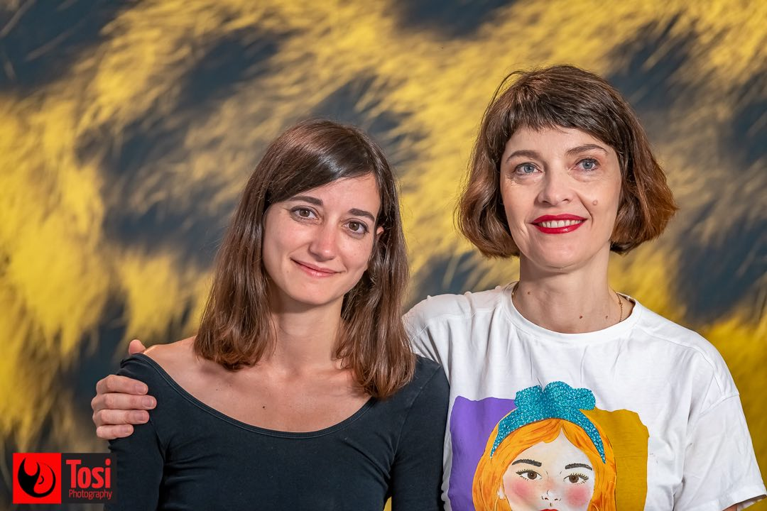 Tosi Photography - Locarno 2021 - photocall film Petite Solange - Director Axelle Ropert and Producer Katia Khazan