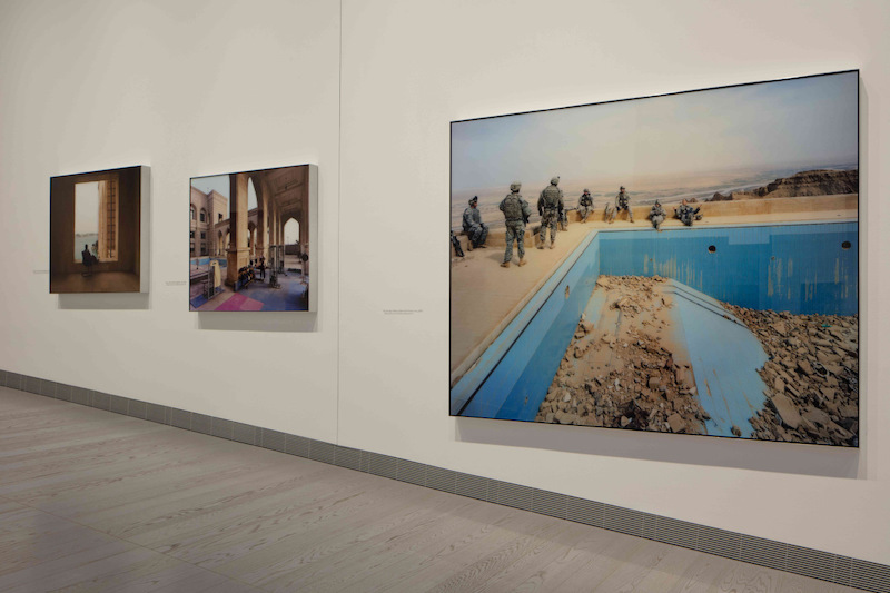 DISPLACED, Richard Mosse, Early Works, installation view. Photo: courtesy of Fondazione MAST.
