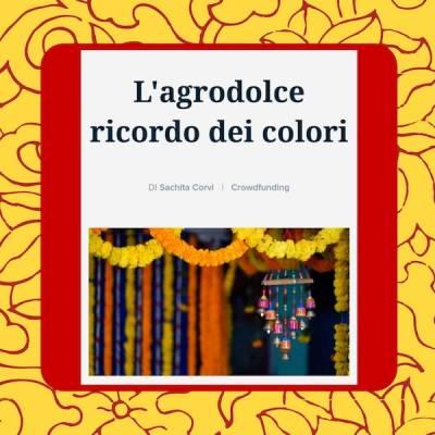 L'agrodolce ricordo dei colori cover