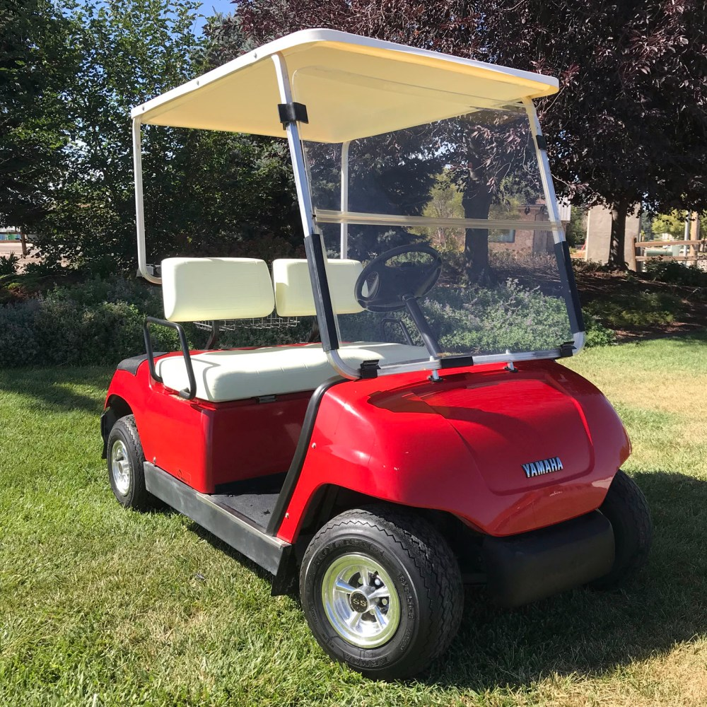 medium resolution of 2000 yamaha g19e factory red 48 volt electric