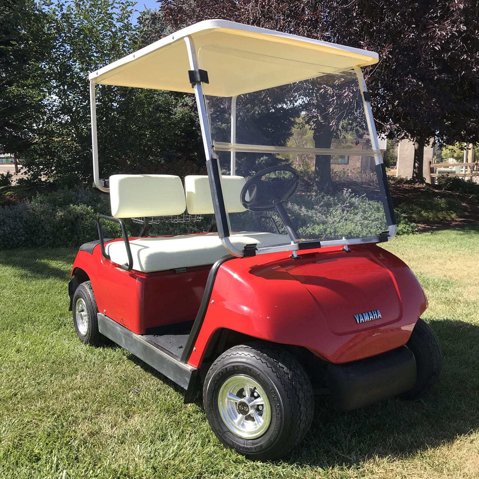 hight resolution of 2000 yamaha g19e factory red 48 volt electric