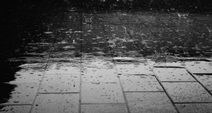 Hujan turun