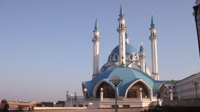 Masjid Qolsharif yang Berada di Moscow, Rusia