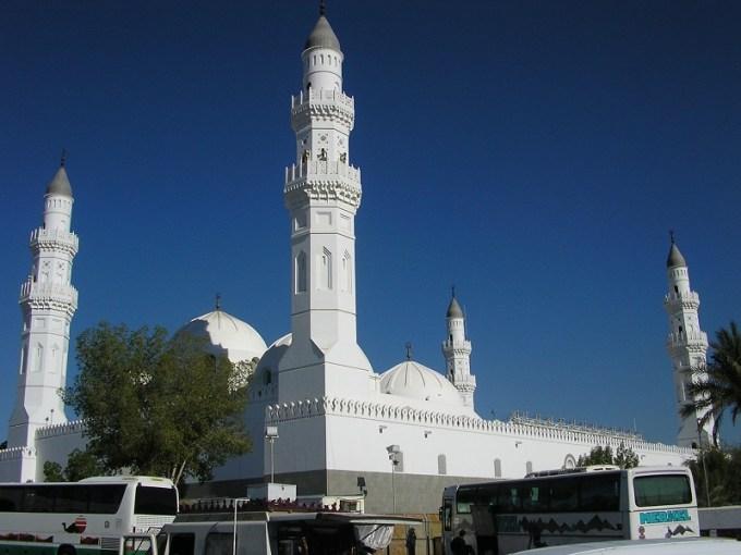 Masjid Quba yang Berada di Madinah, KSA