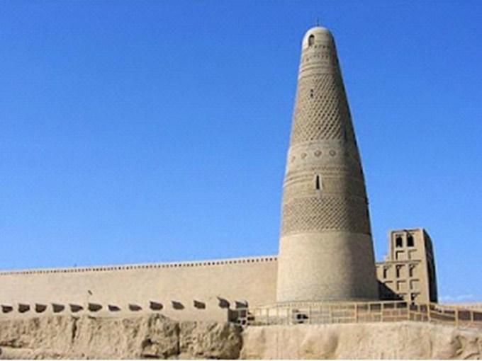 Menara Emin, Masjid Uyghur yang Berada di Turfan, Xinjiang, China
