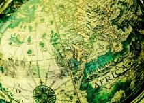 Peta Dunia Globe