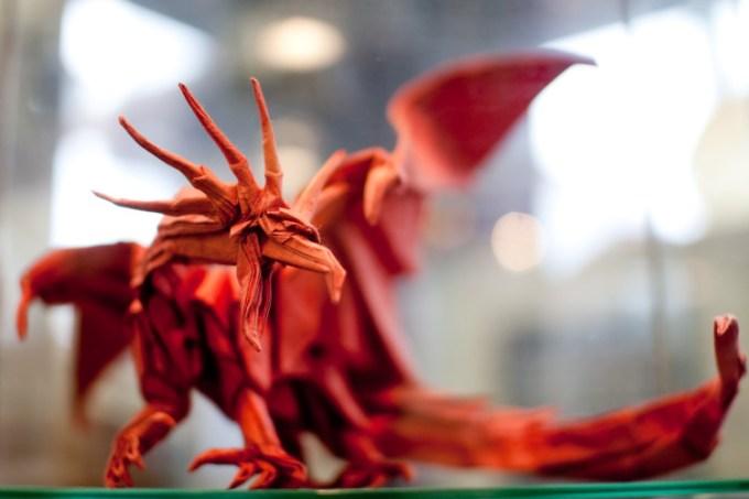 Origami naga keren