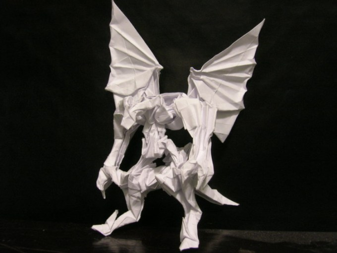 Origami Naga apa Monster