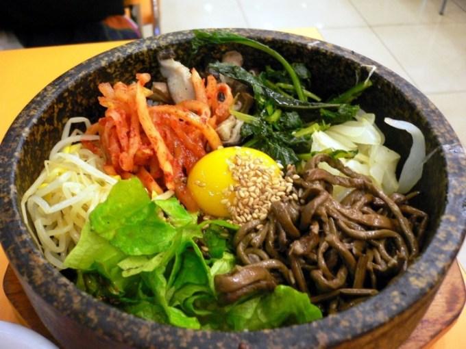 Bibimbab dari Korea Selatan