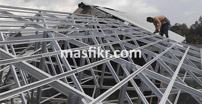Baja Ringan Jogja Solusi Untuk Rangka Atap Rumah