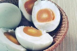 Telur asin masir