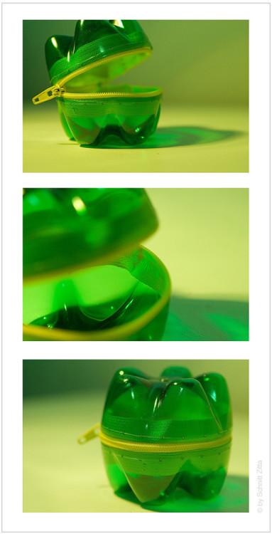 dompet dari botol plastik
