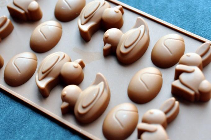 cetakan coklat bebek