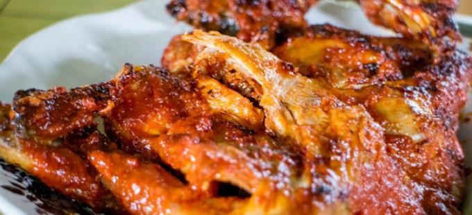 Ayam taliwang khas Lombok