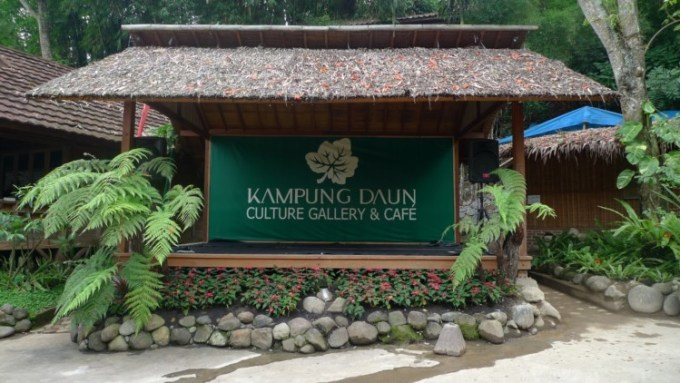 Kampung Daun, tempat wisata kuliner di Bandung
