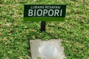 Lubang biopori yang sudah jadi