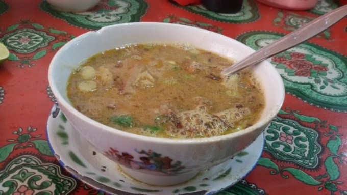 Sop saudara makanan khas Makassar