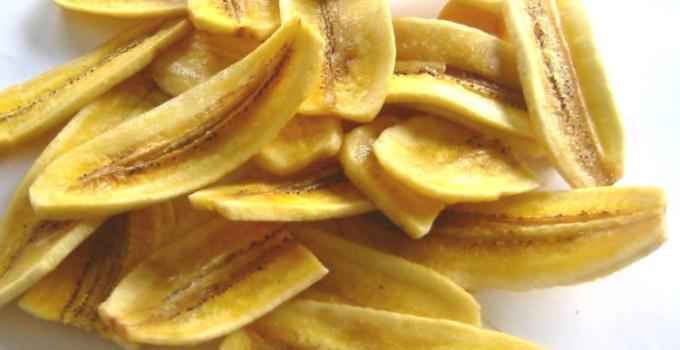Cara Membuat keripik pisang