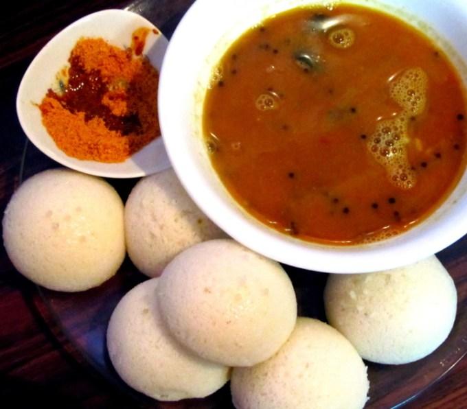 Idli Sambar Makanan India