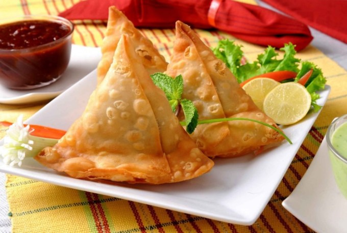 Samosa Makanan khas India