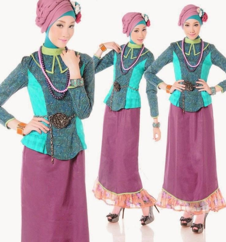 Model Baju Batik Kombinasi Terbaru Dengan Desain Yang Modern