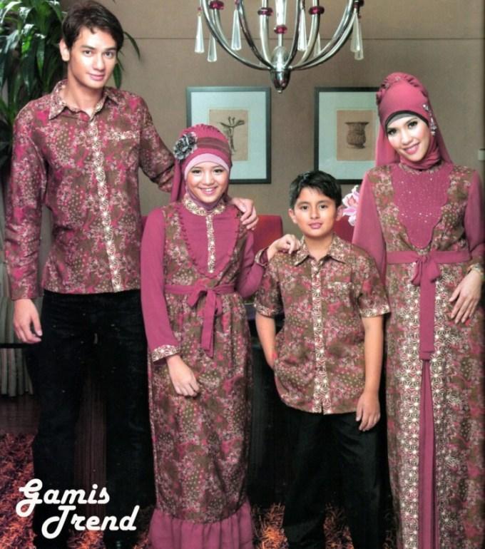 Model Baju Batik Kombinasi Terbaru Dengan Desain Yang