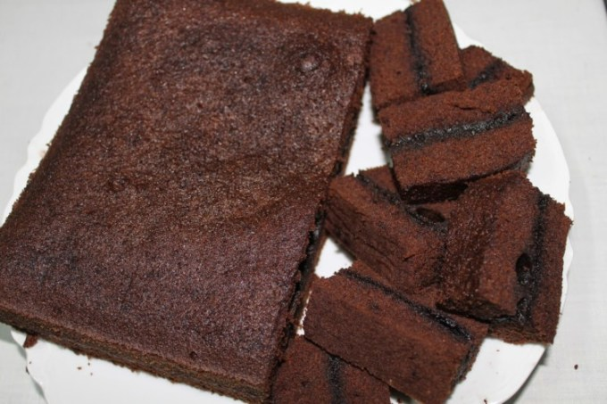 Brownies kukus sederhana