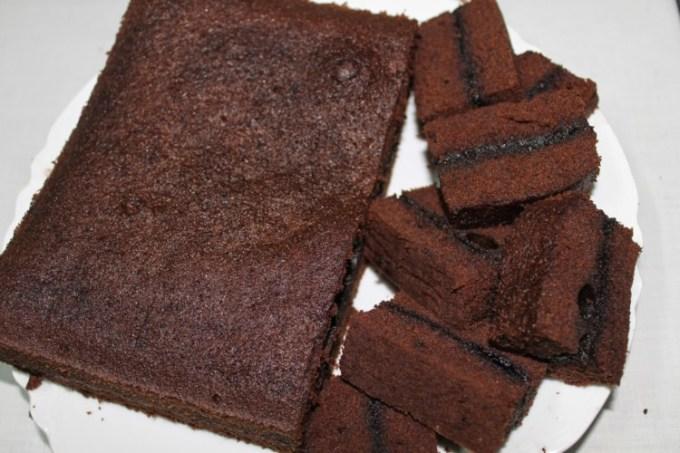 Brownies kukus sederhana