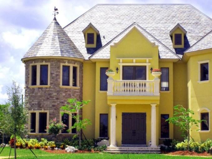 Warna Cat Luar Rumah