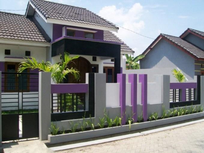 Warna Cat Pagar Rumah