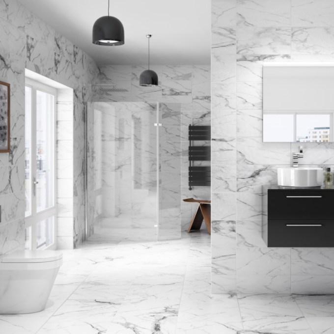 Marmer untuk kamar mandi