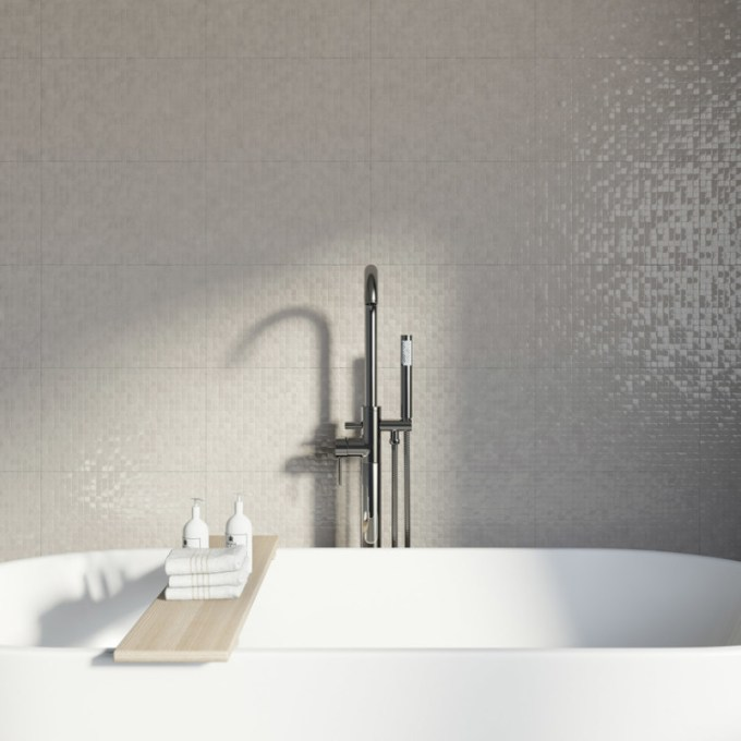 Keramik mozaik untuk kamar mandi