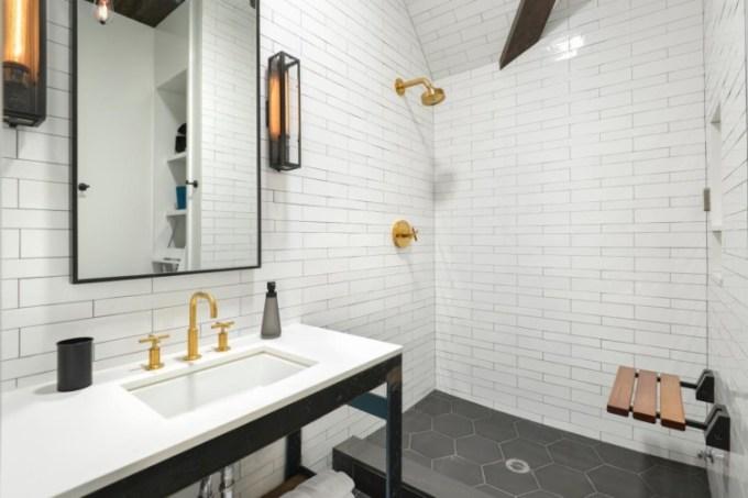 Subway Tiles Bathroom