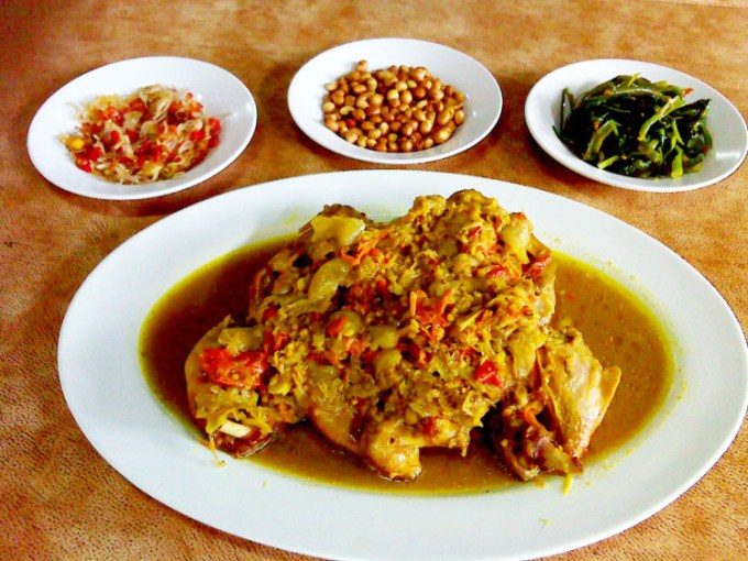 Wisata kuliner Bali Ayam Betutu Khas Gilimanuk