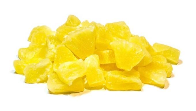Resep manisan nanas kering