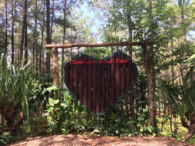 Taman Love Puncak Becici