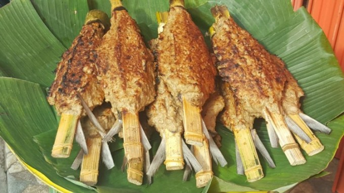 Makanan Khas Banten - Sate Bandeng