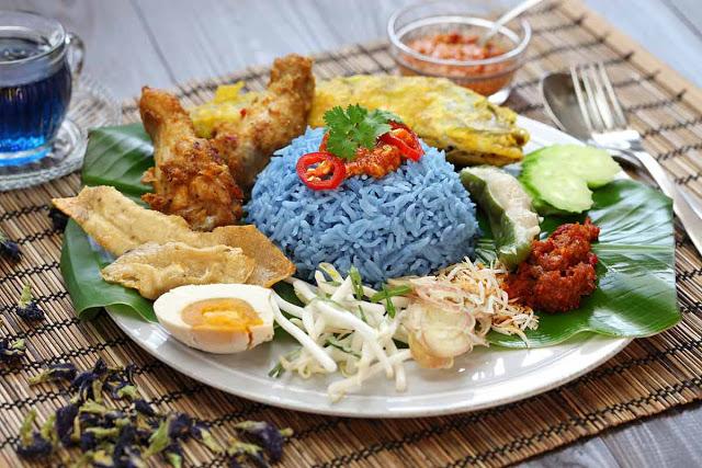 Nasi Kerabu Malaysia