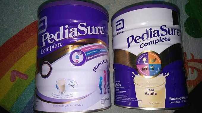 beda susu pediasure complete dan triplesure