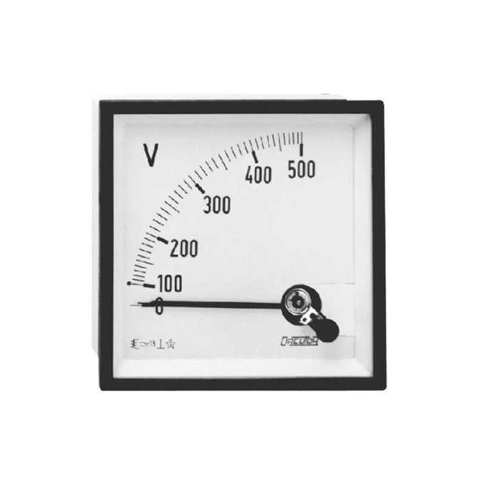 voltmeter analog untuk alat ukur listrik