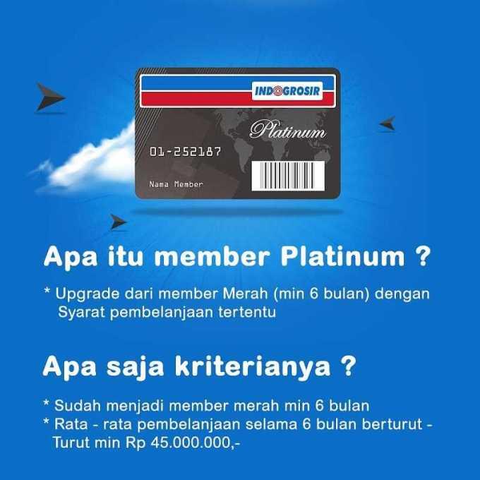 member platinum indogrosir