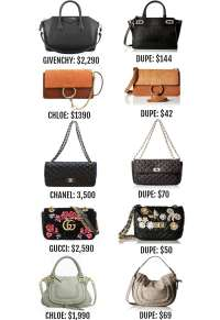 The Designer Bag Dupes You Need To See | Mash Elle