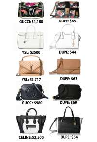 Designer Bag Dupes You Need - Mash Elle