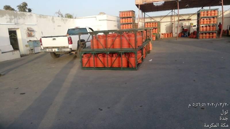 أمانة جدة: إلزام محلات بيع أسطوانات الغاز بتعقيم الأسطوانات