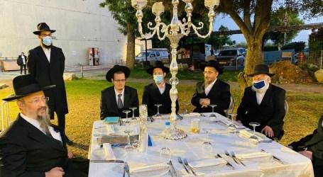 En Israel cuidando los protocolos